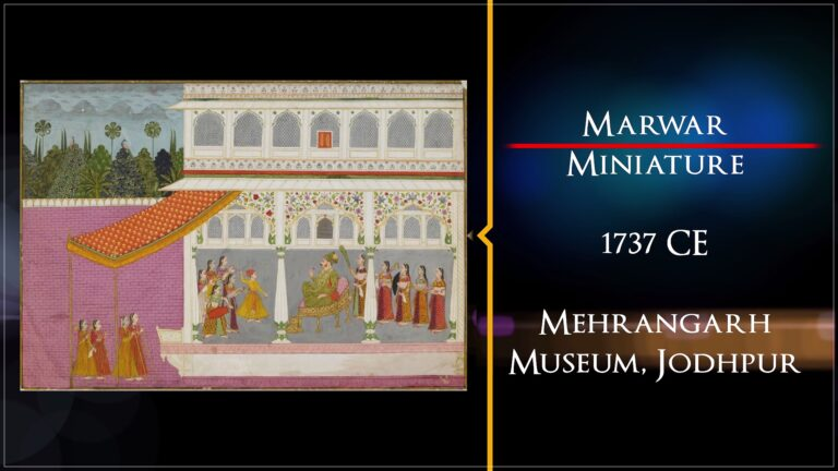Marwar Miniature | Treasures of India