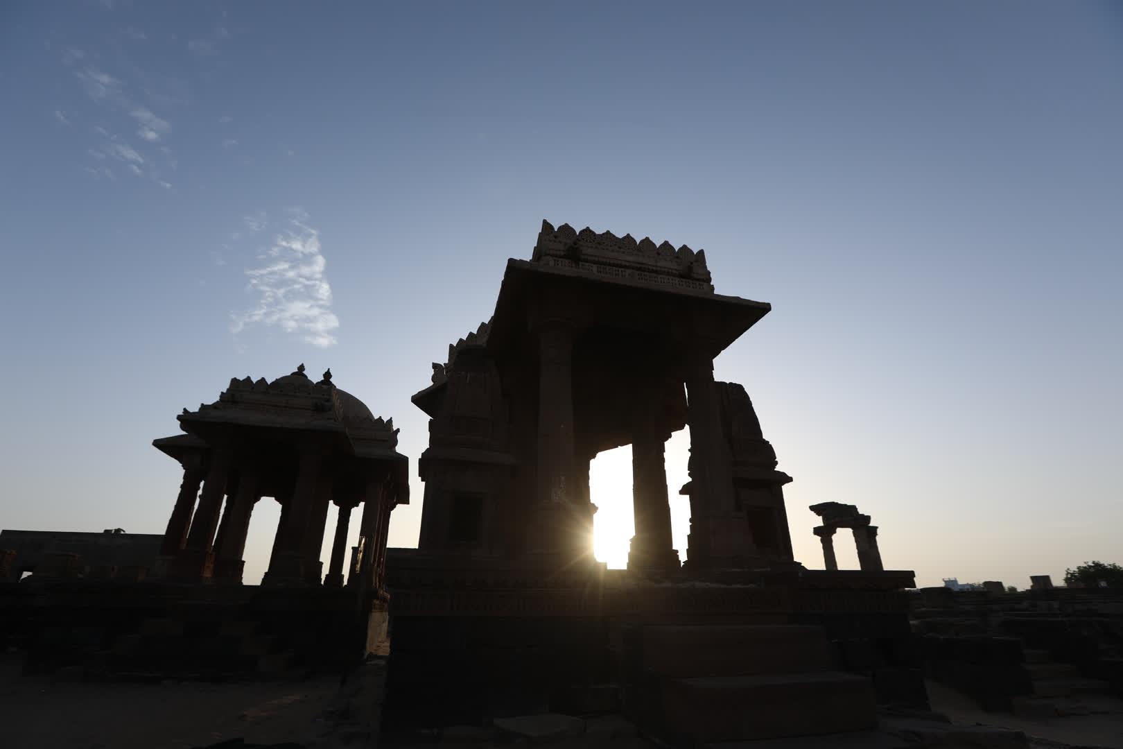 The Royal Cenotaphs of Bhuj