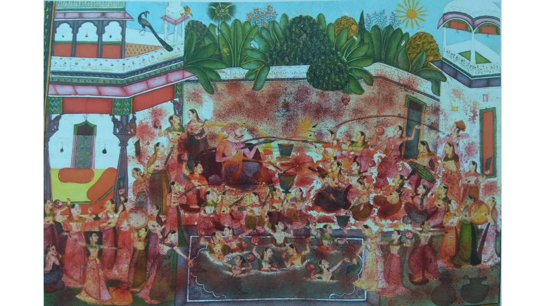 Colours of Holi Through the Ages