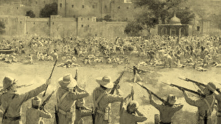 The Jallianwala Bagh Tragedy