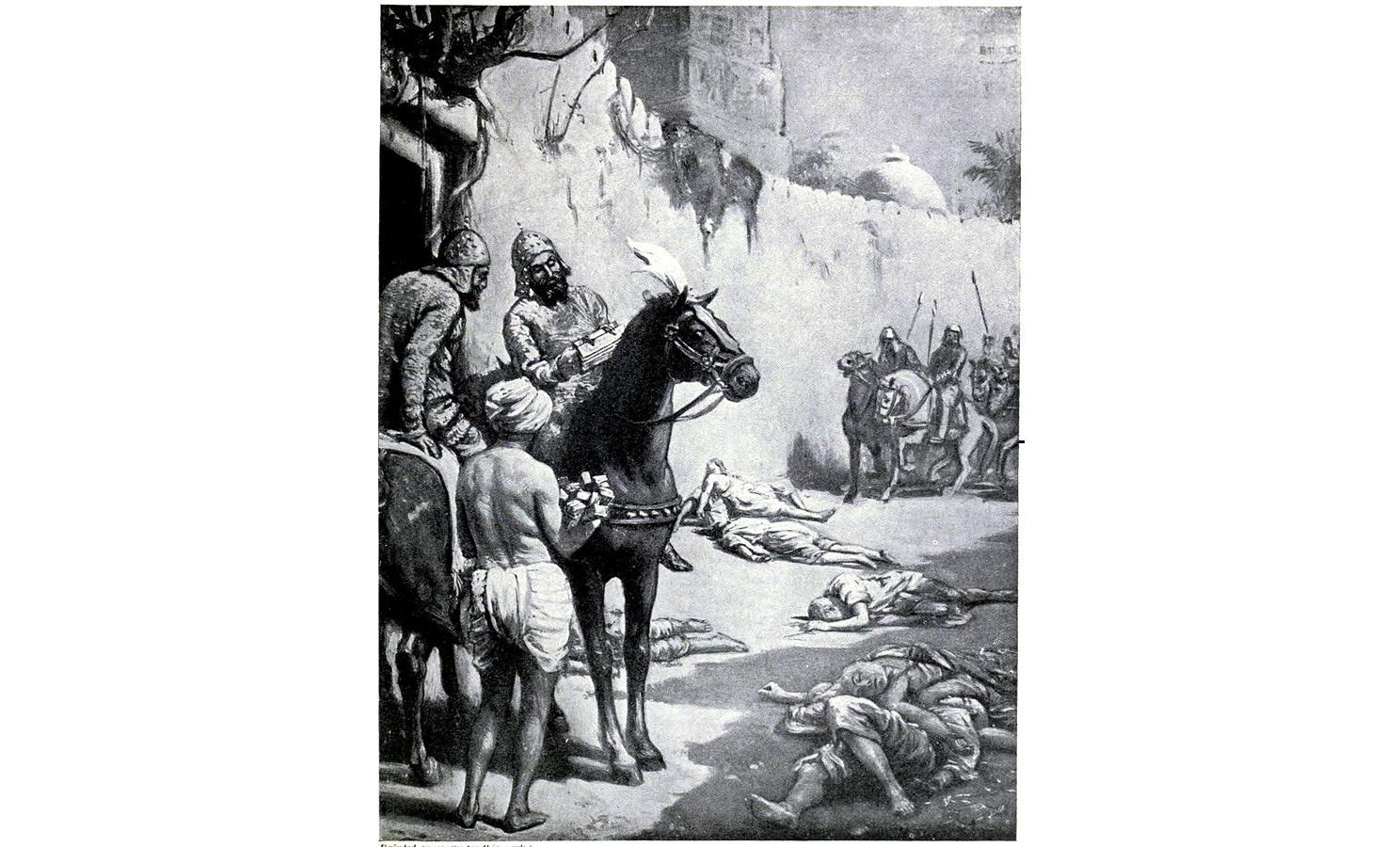 Bakhtiyar Khilji's Disastrous Expedition