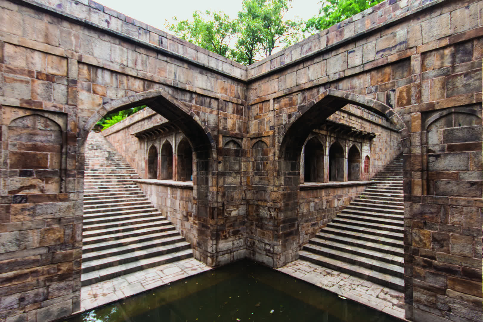 The Wonder Well of Red Fort