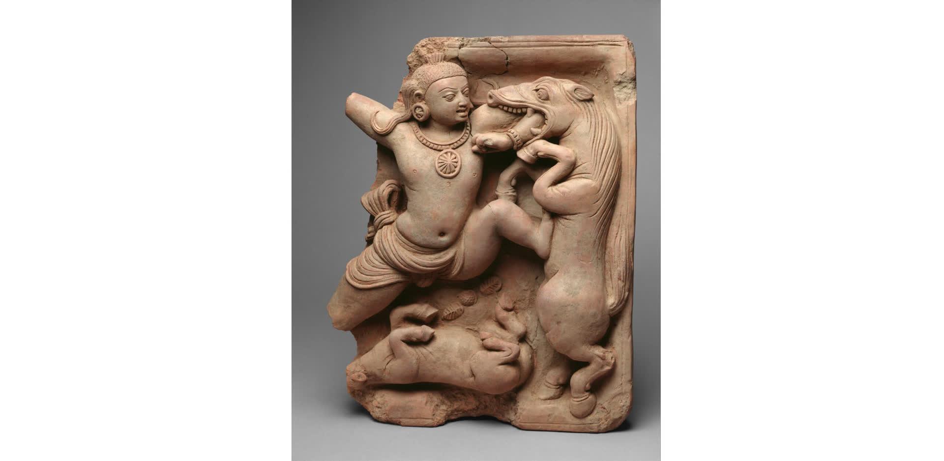 Krishna's Exploits in Art
