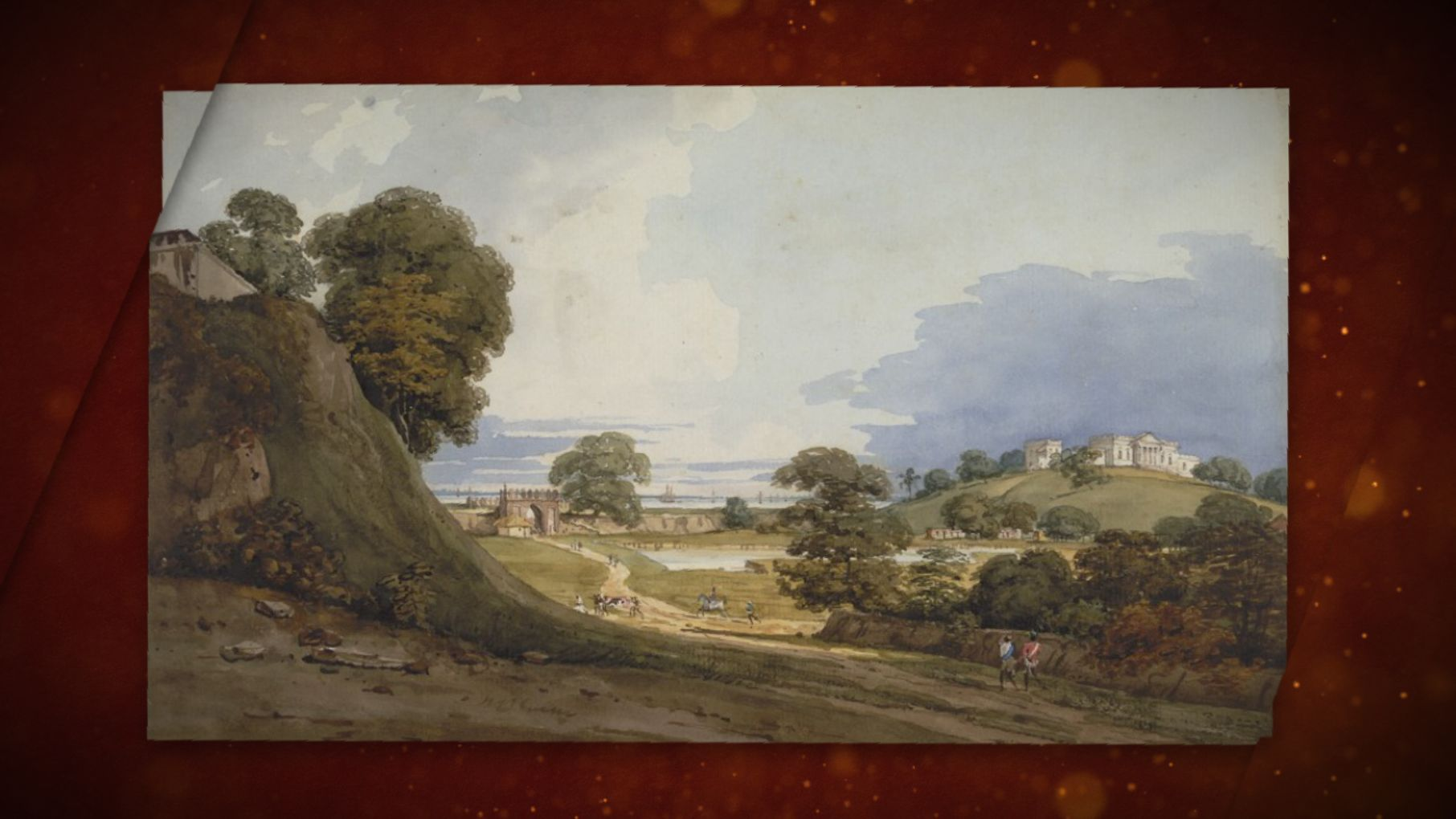 Daniells: The Earliest Views of India