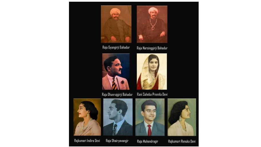 Raja Dhanrajgir family of Hyderabad