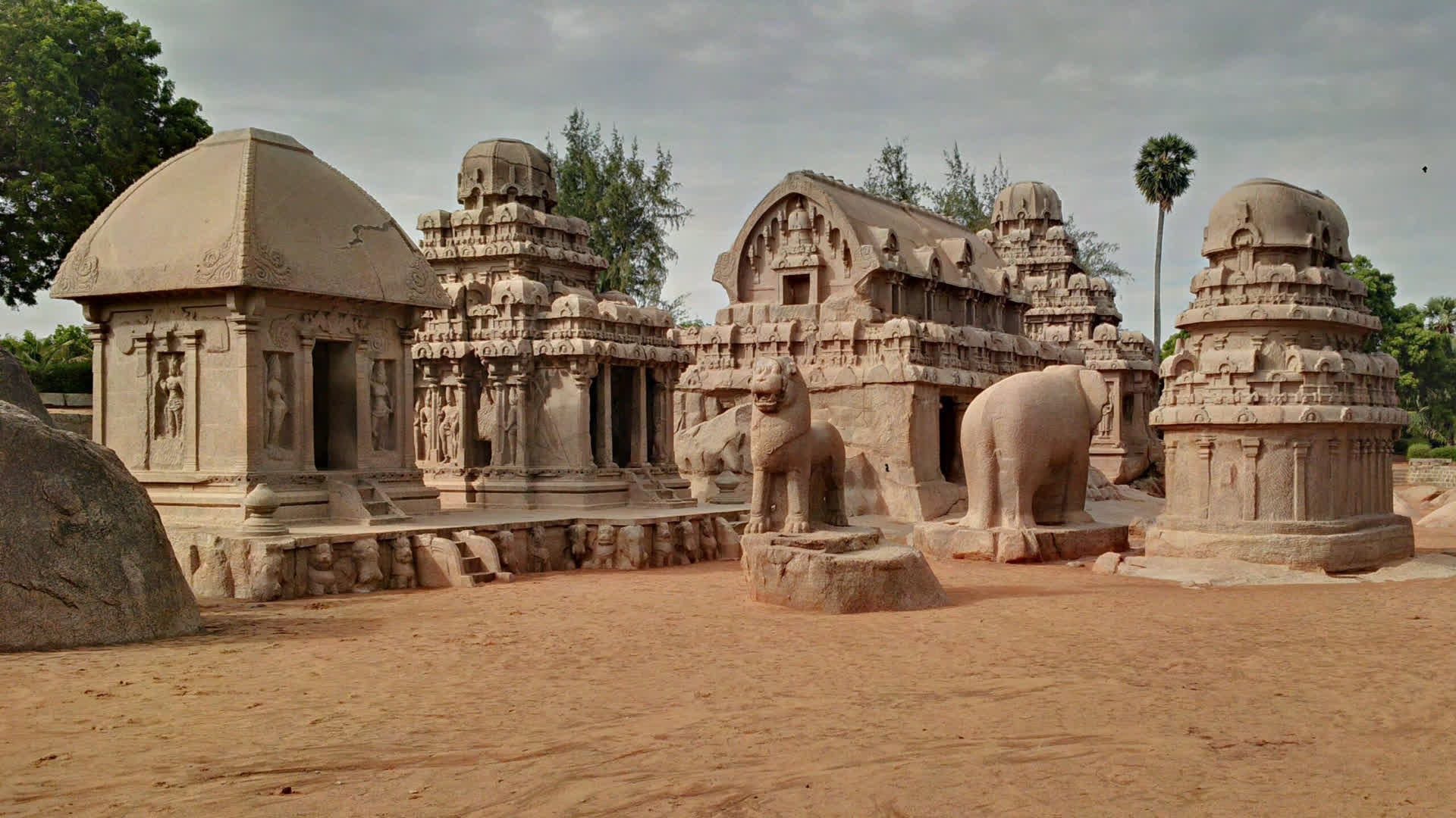 Pallavas & the Tale of Two Cities