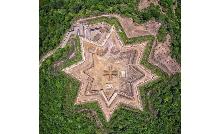 Tipu Sultan's Star-Shaped Fort