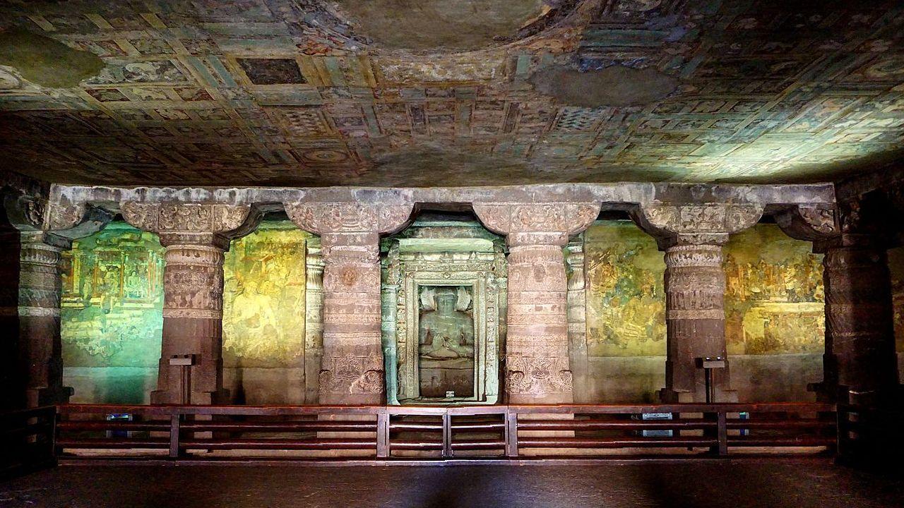 Ajanta Caves: Murder, Wars and Intrigue