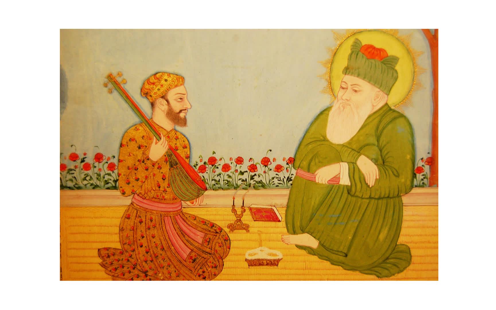 Amir Khusrau: In the Court of Delhi Sultans