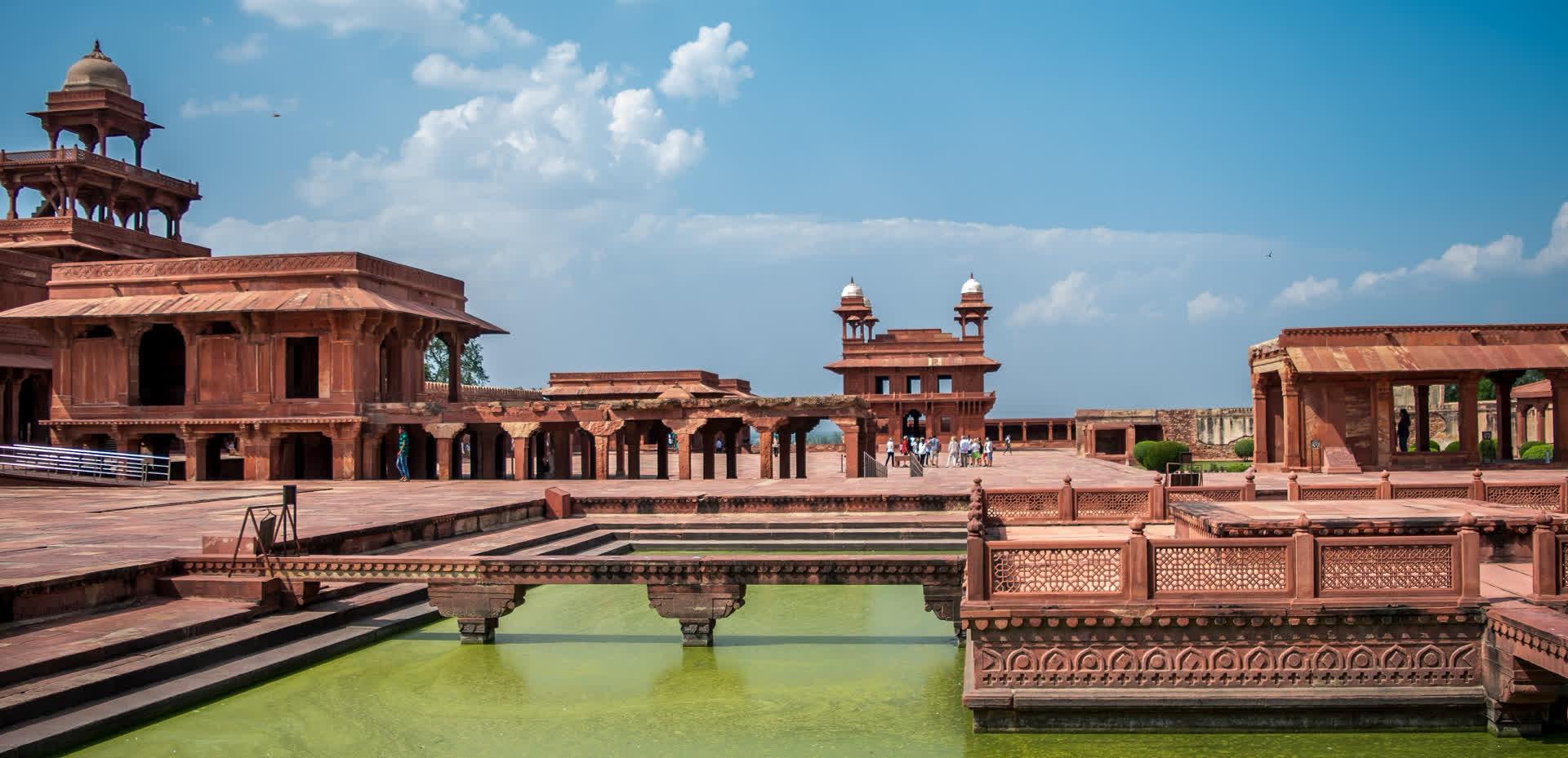 Fatehpur Sikri: Symphony in Red