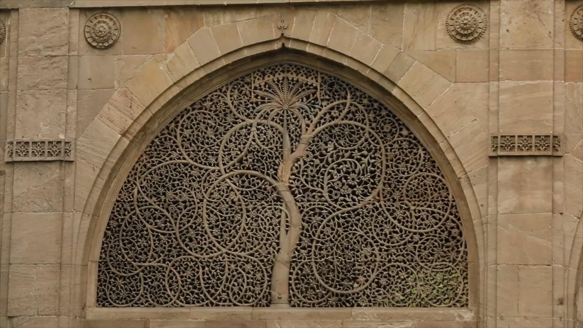 Ahmedabad's Sidi Saiyyed Mosque