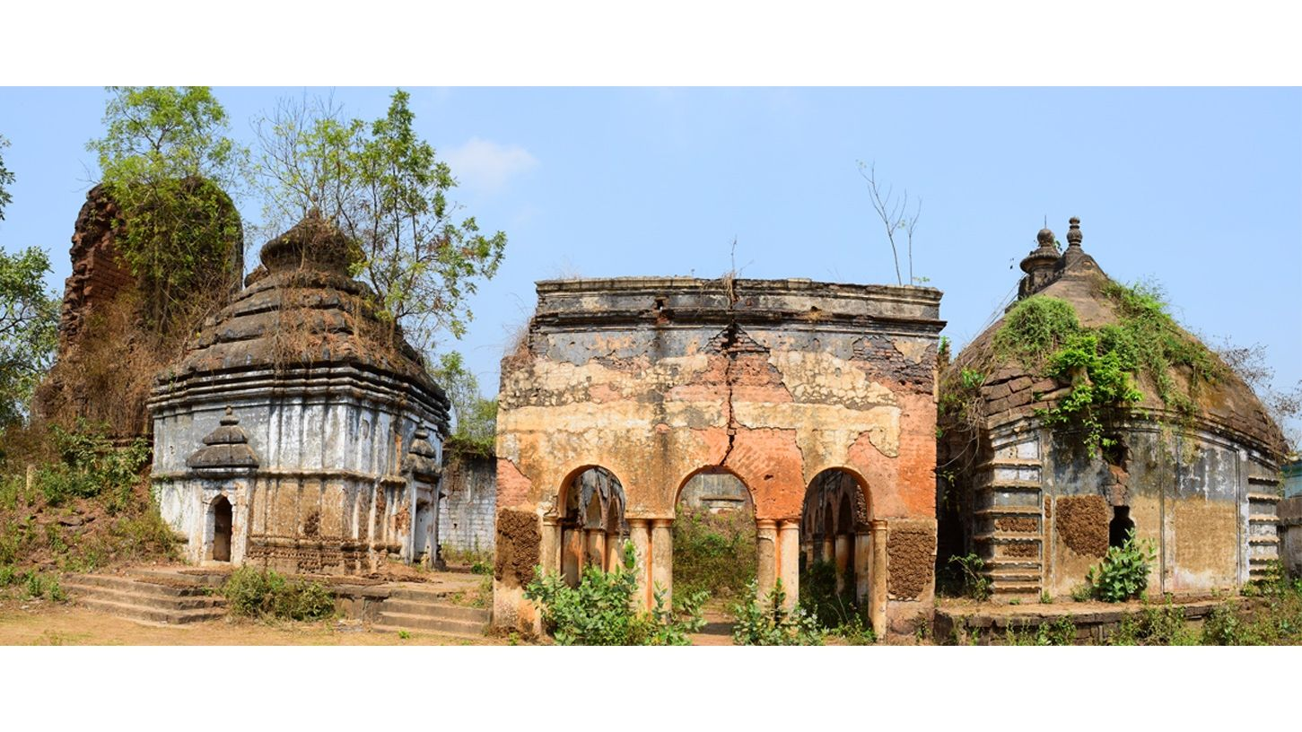 The Crumbling Temples of Chandrakona