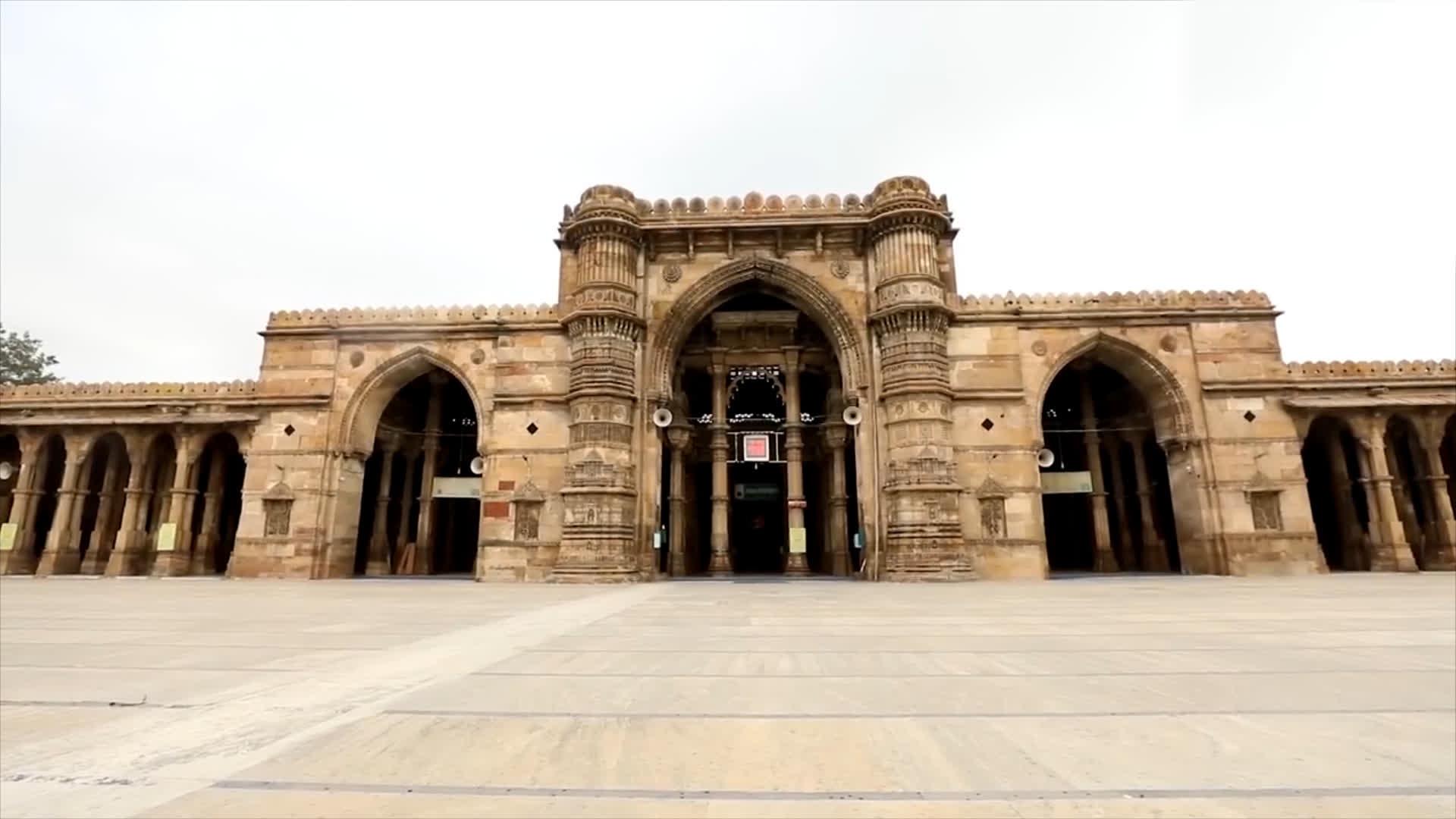 Ahmedabad's Jama Masjid