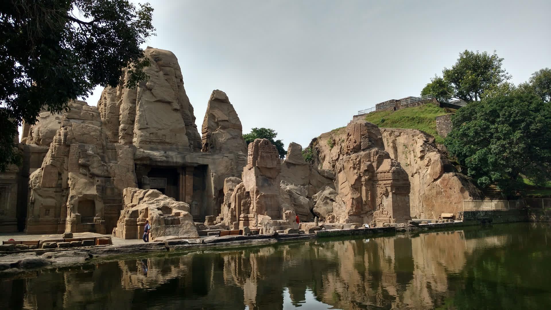 Masroor Temple Complex: A Rock-Cut Marvel in Himachal Pradesh