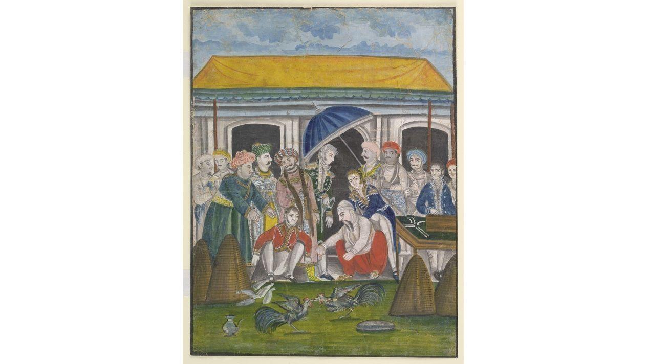 Raja Tikait Rai: Keeper of the Nawab's Treasury
