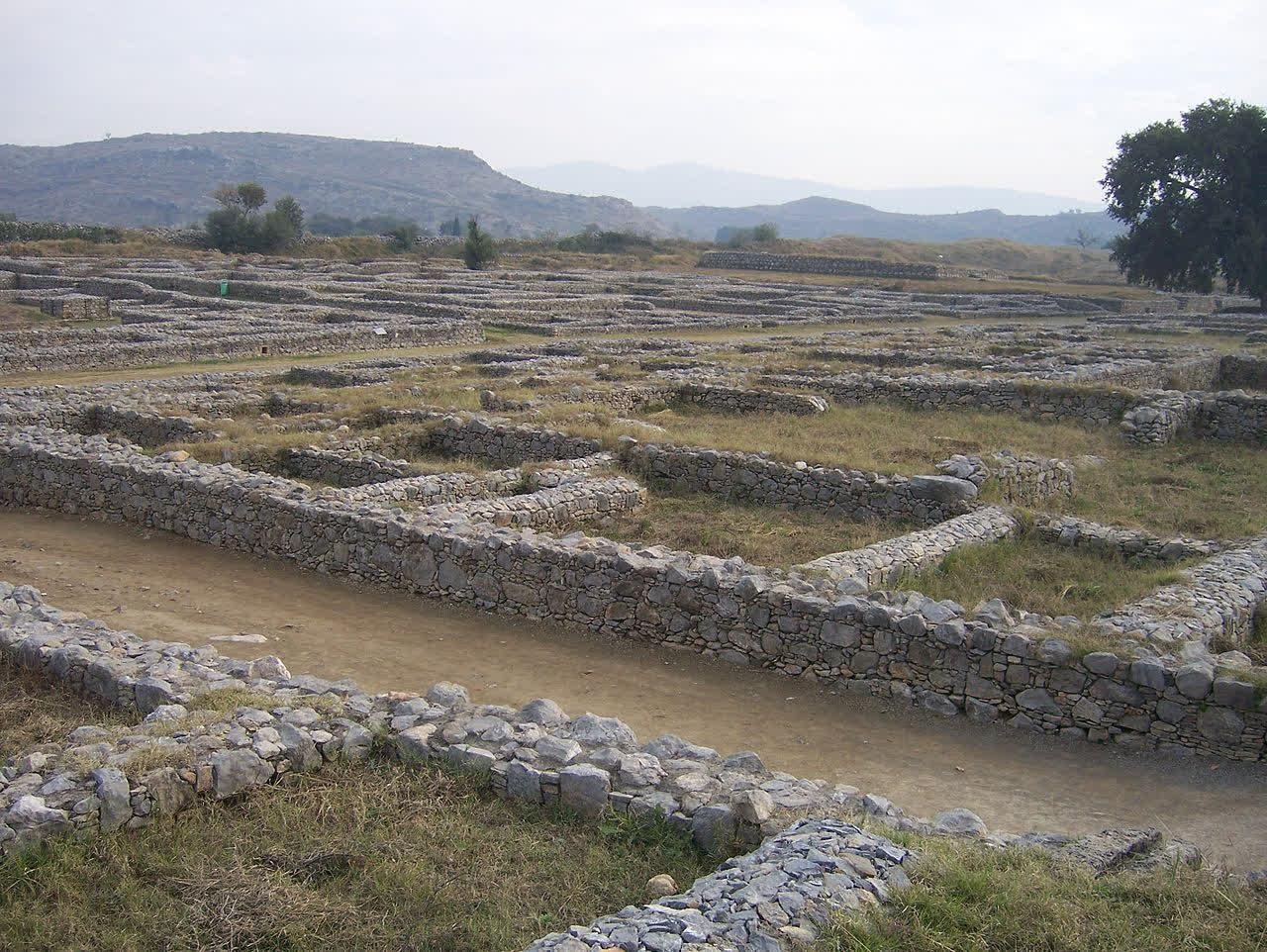 Remains of Sirkap