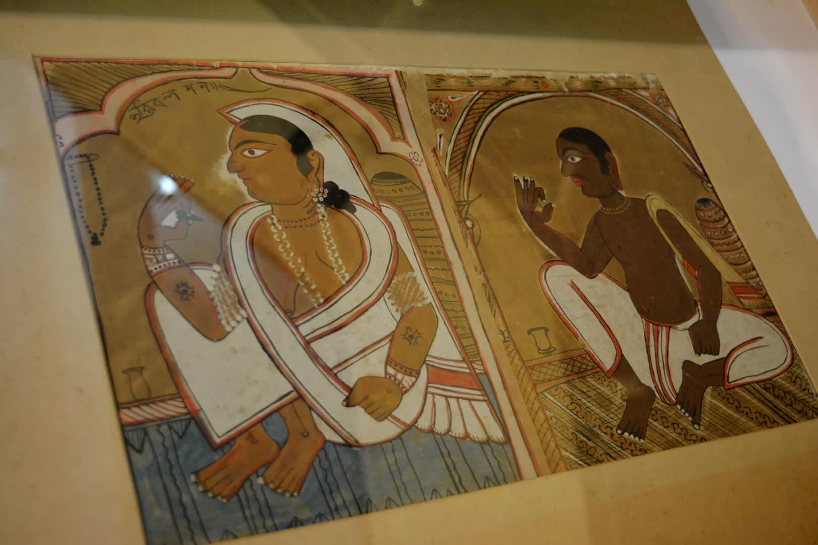 Chokkhudan pat/Ghotang pat (early 20th century, Midnapore)   Gurusaday Museum