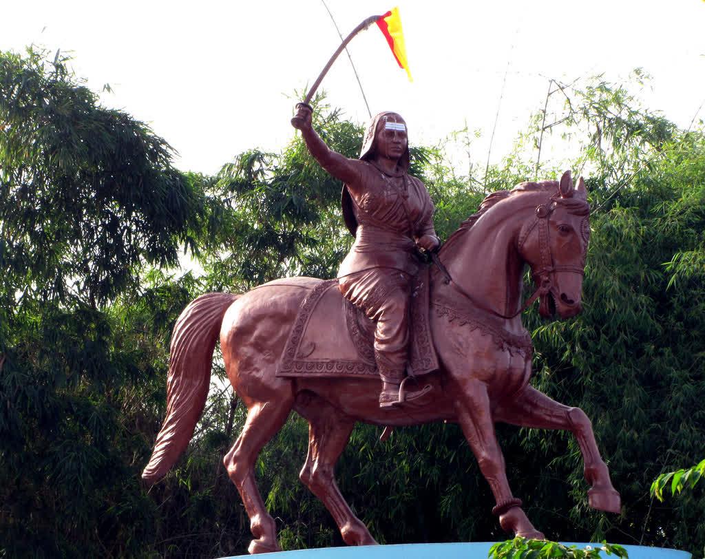 Statue of Rani Chennamma