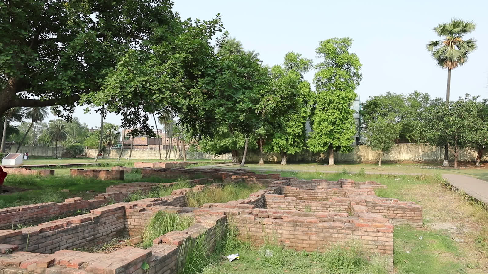Remains of old structures at Patna