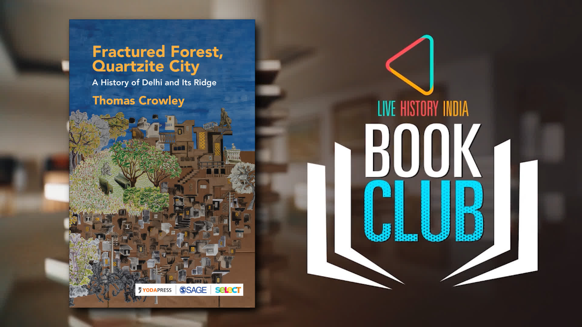 Thomas Crowley on 'Fractured Forest, Quartzite City'