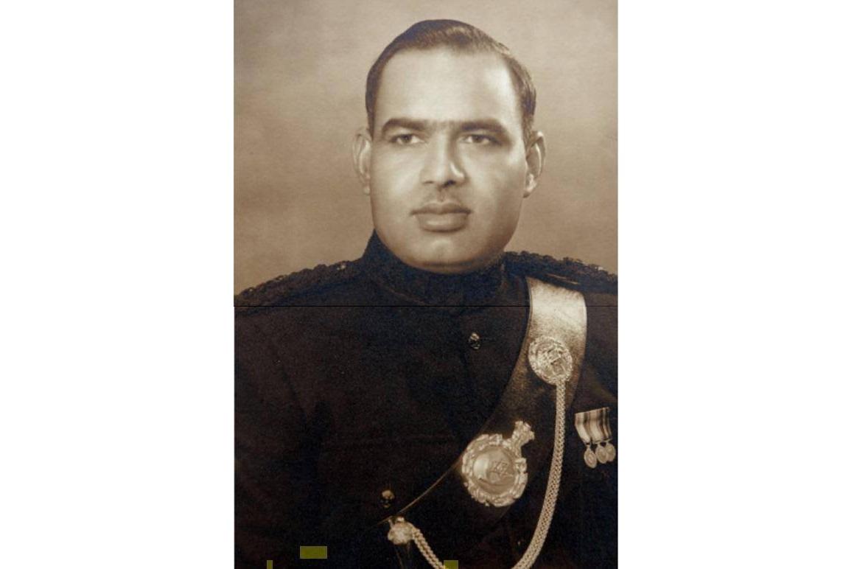 LT General Sagat Singh, when he was commanding officer of 3/3 Gorkha Rifles.