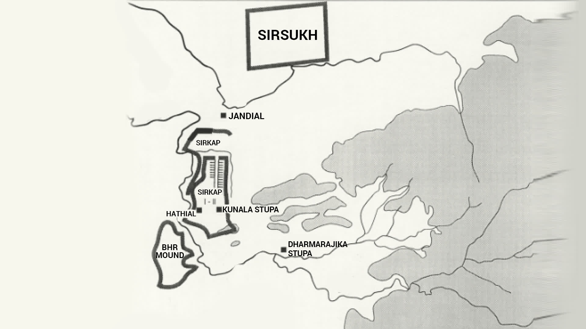 Geography of Taxila