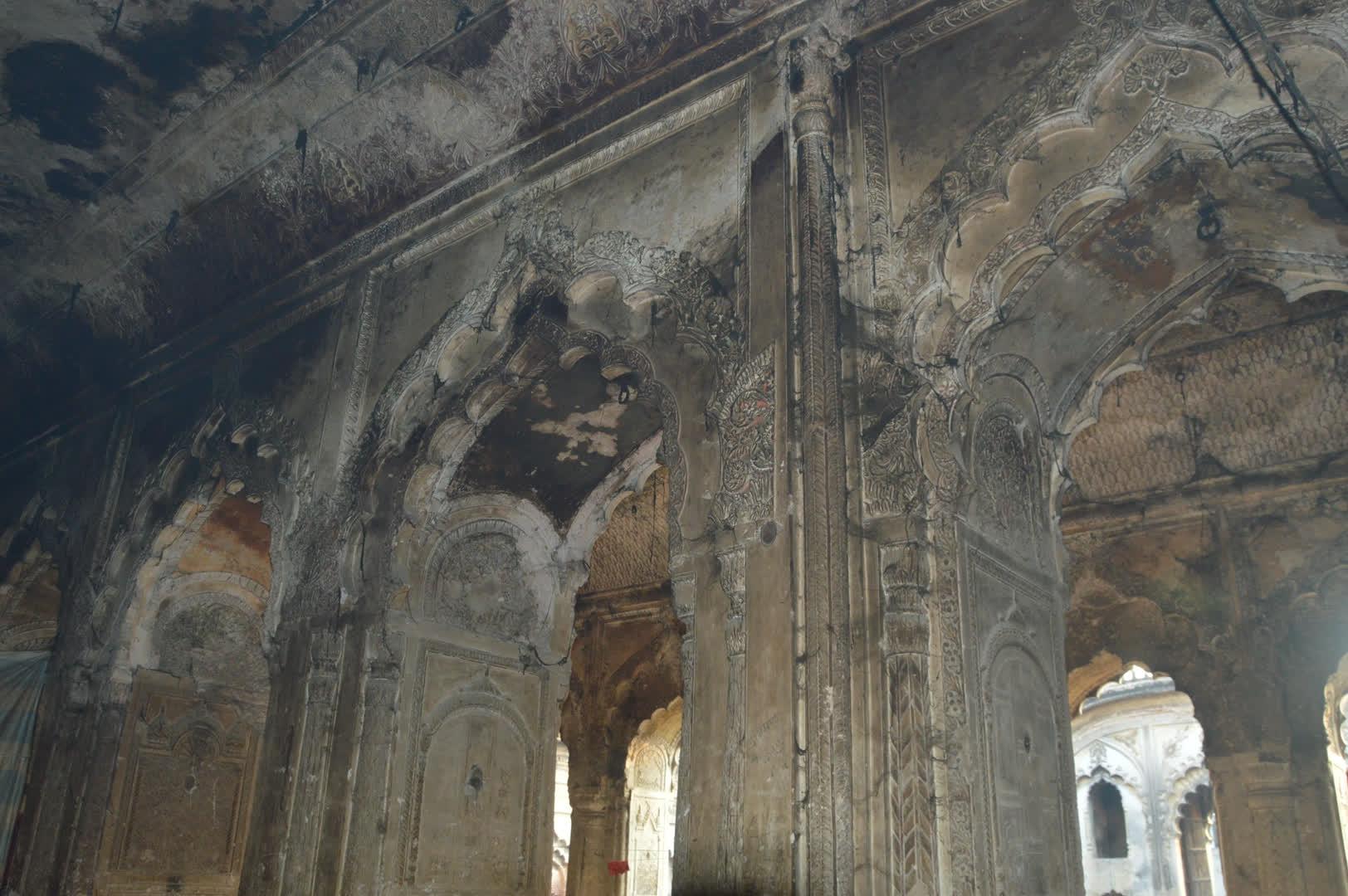 Inside the main hall of the imambara   Syed Moin Alvi