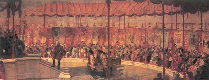 The Delhi Durbar of 1877
