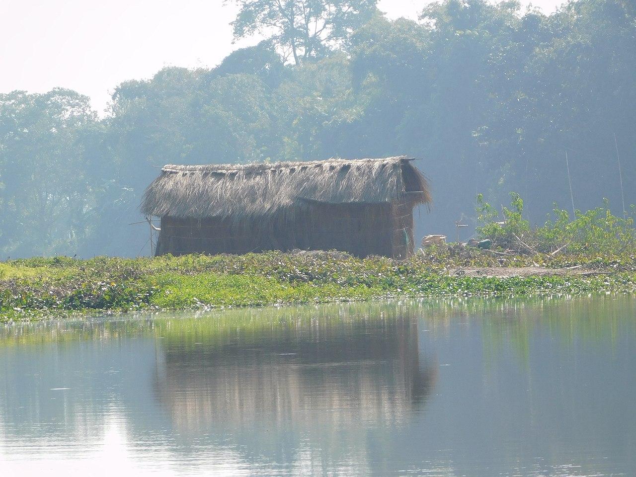 Majuli, a river island