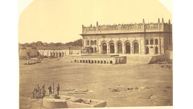 The Imambara in the 19th century