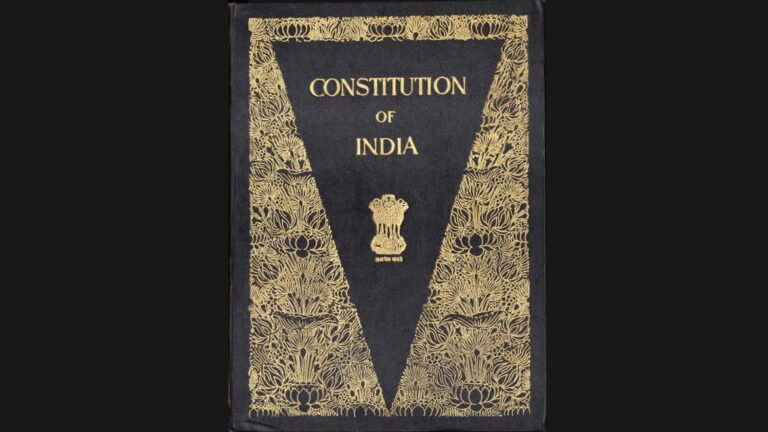 The Illustrated Constitution of India