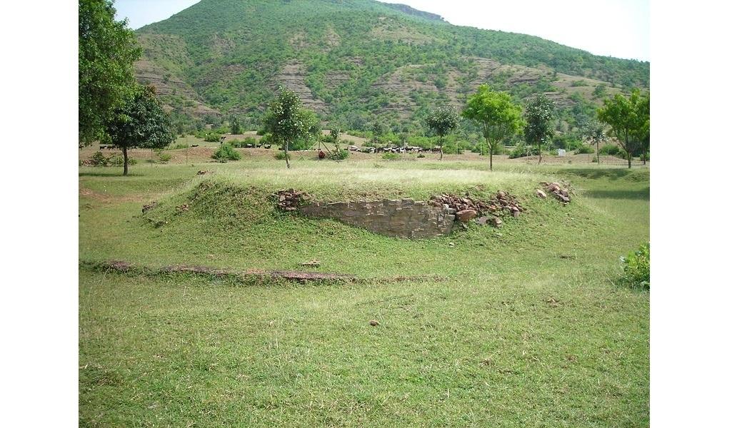 The actual site at Bharhut