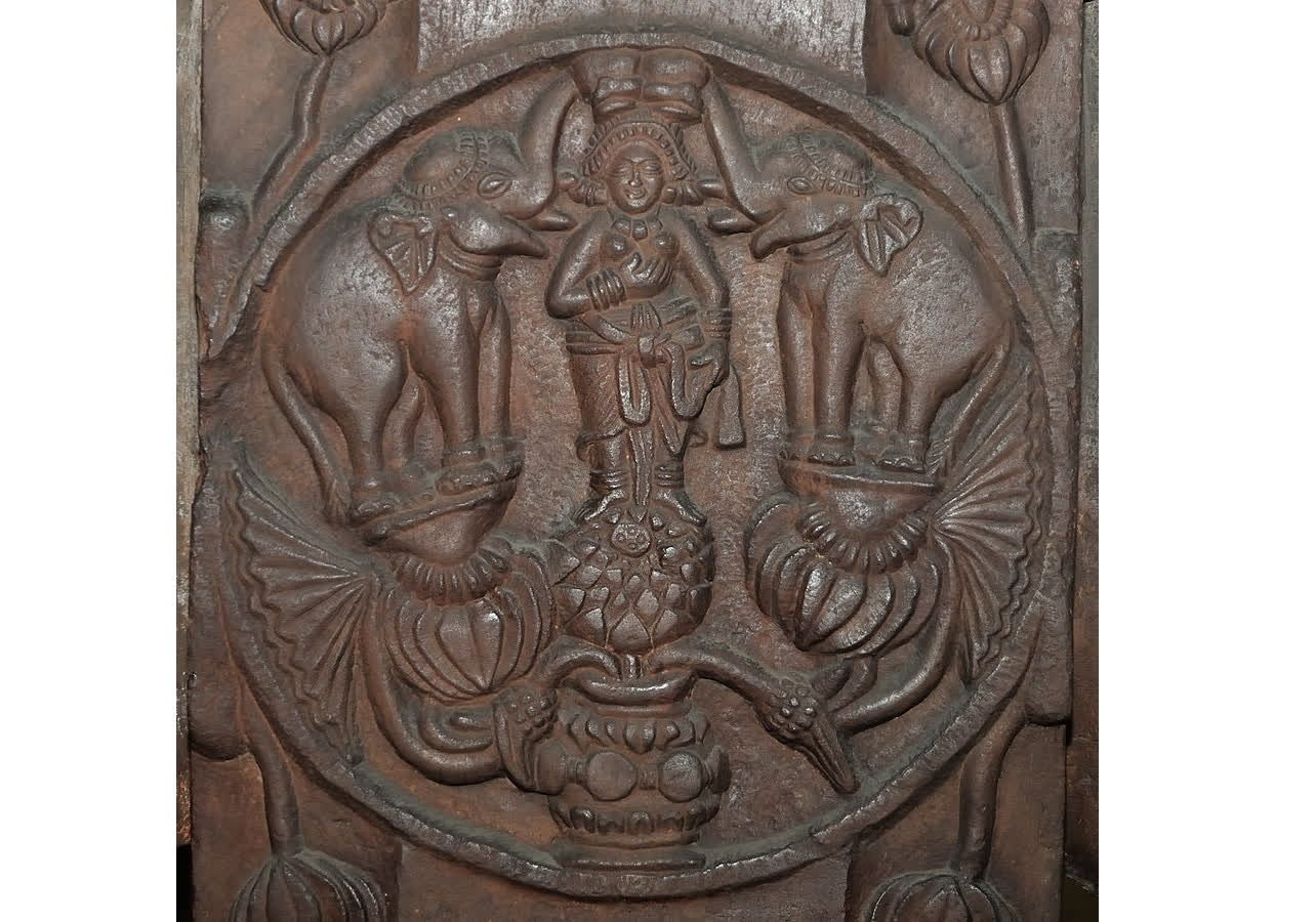 The Bharhut Gajalaxmi, the earliest depiction in India