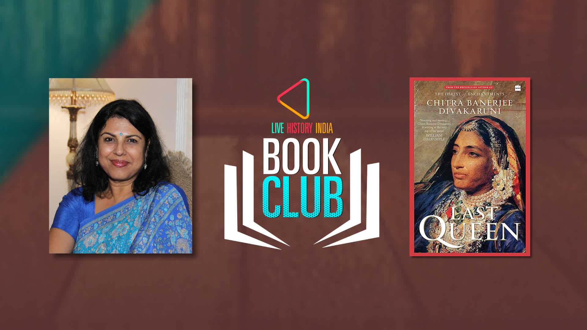 Chitra Banerjee Divakaruni on The Last Queen