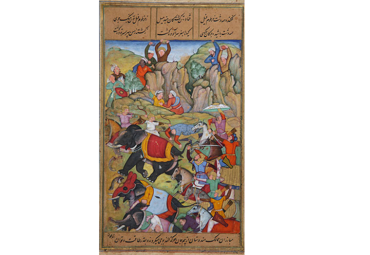 Defeat of the Tughlaq Sultan by Taimur