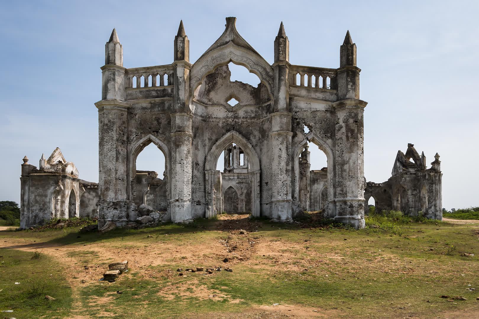 Holy Rosary Church Entrance