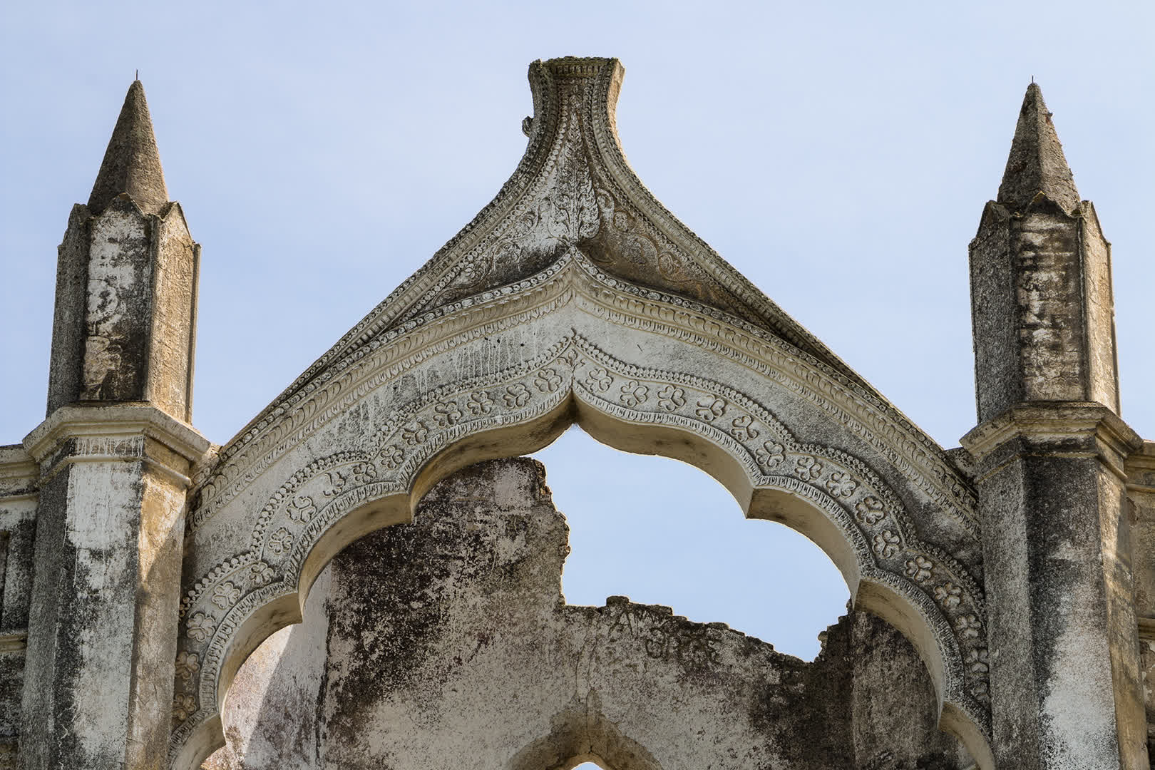 Holy Rosary Church Scalloped Arch
