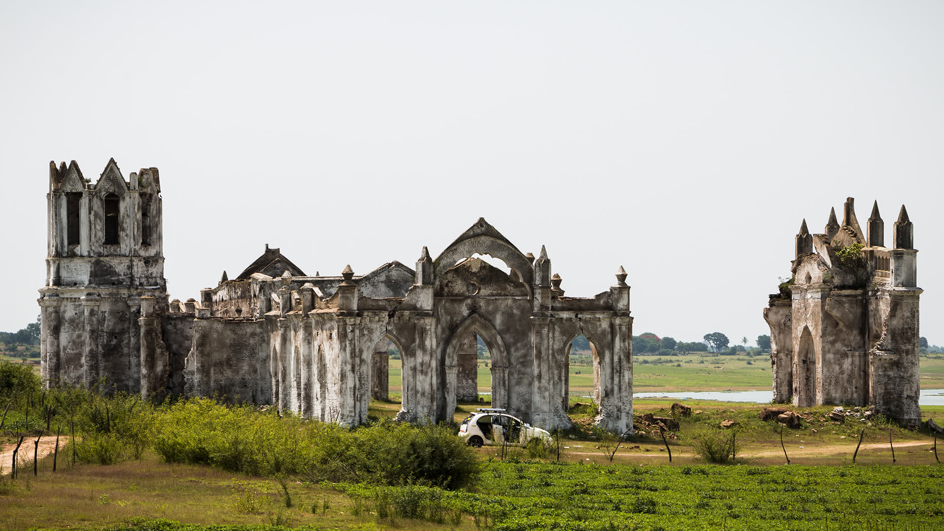 Shettihalli Church:  India's Only 'Floating Church' in Karnataka