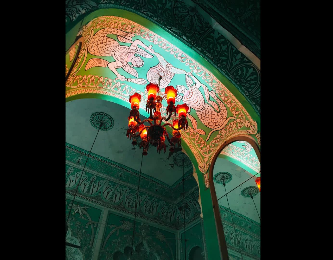 Interiors of the Imambara