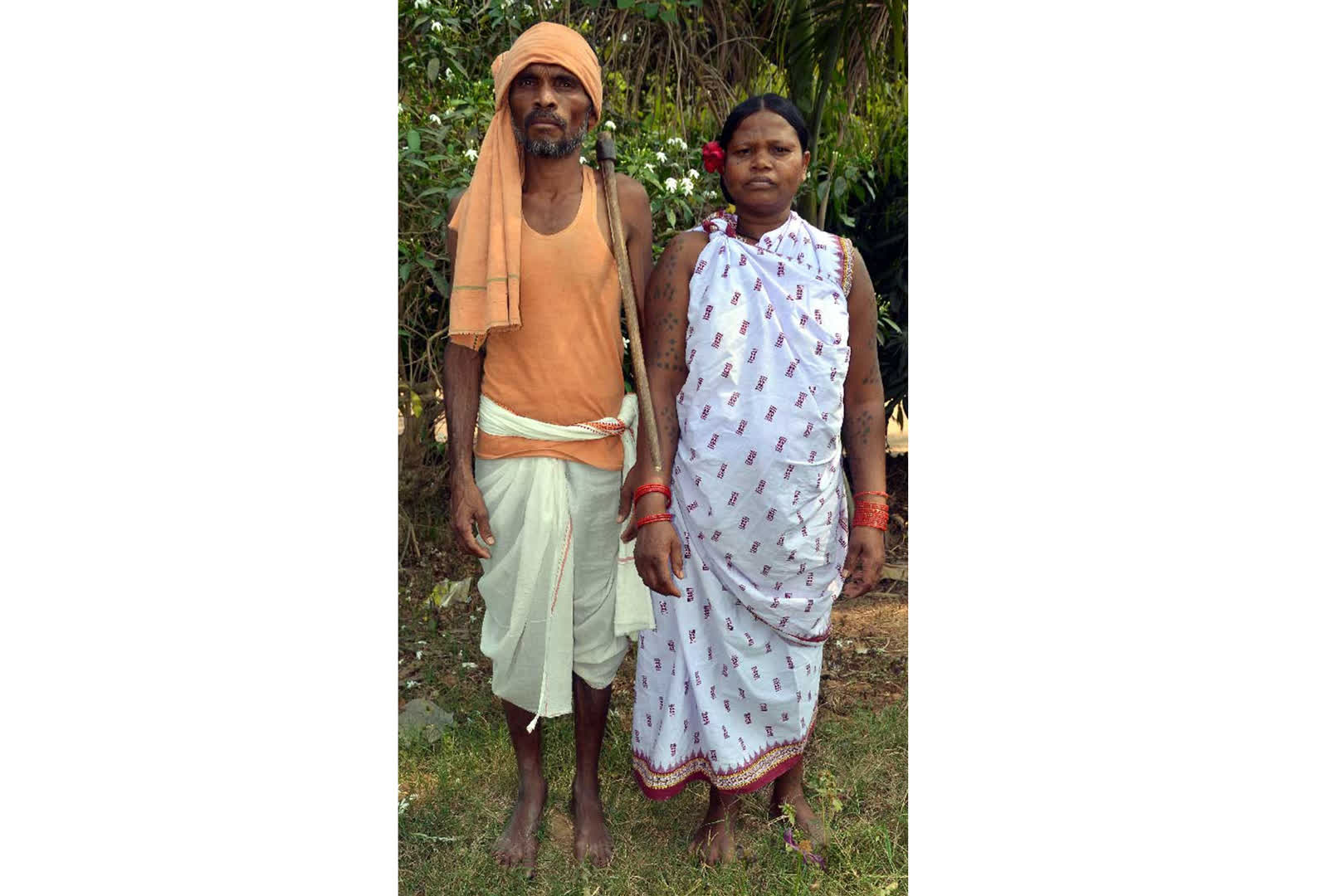 Members of the Bhottada tribe dressed in Kotpad