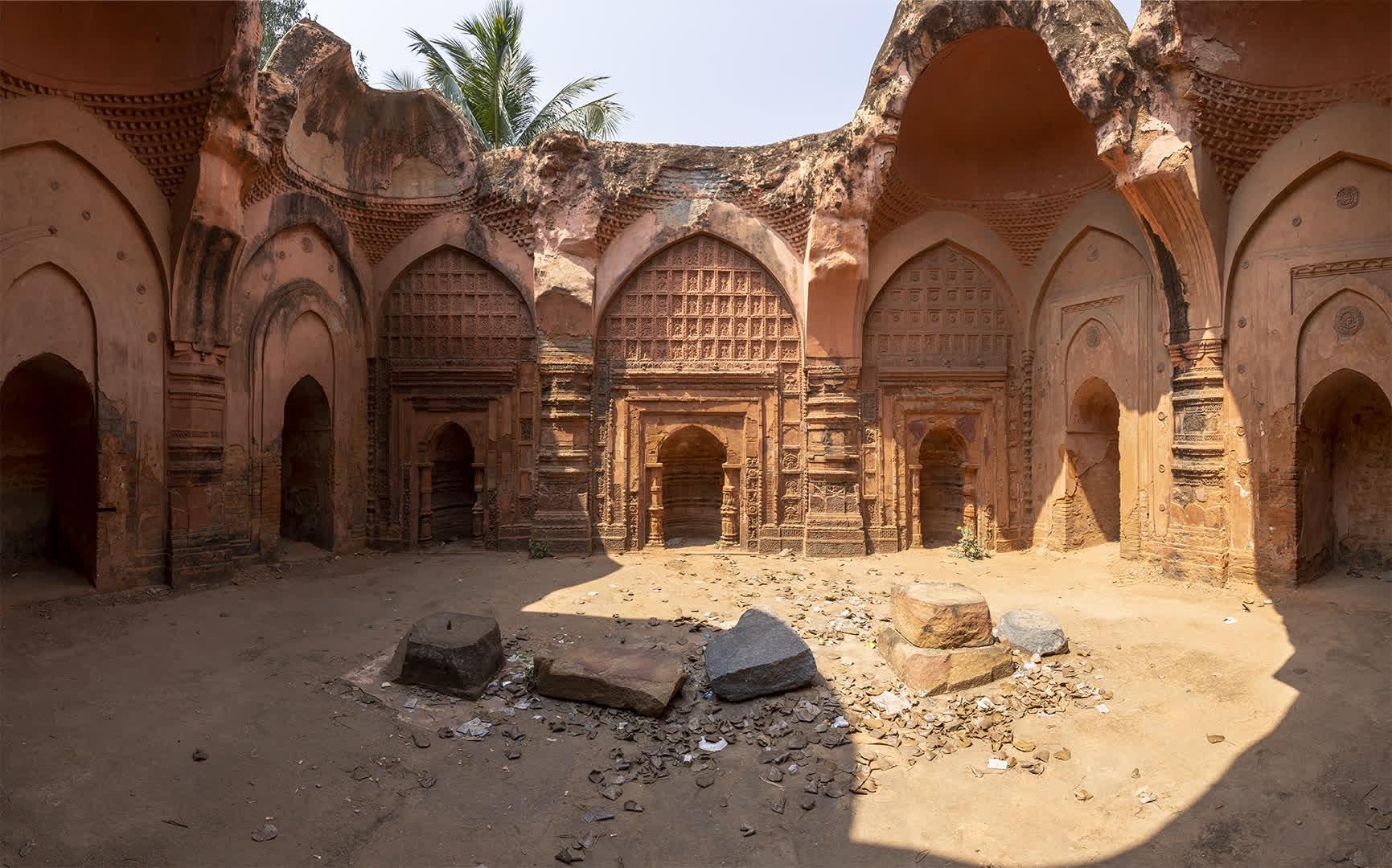 Interiors of the Motichur Mosque