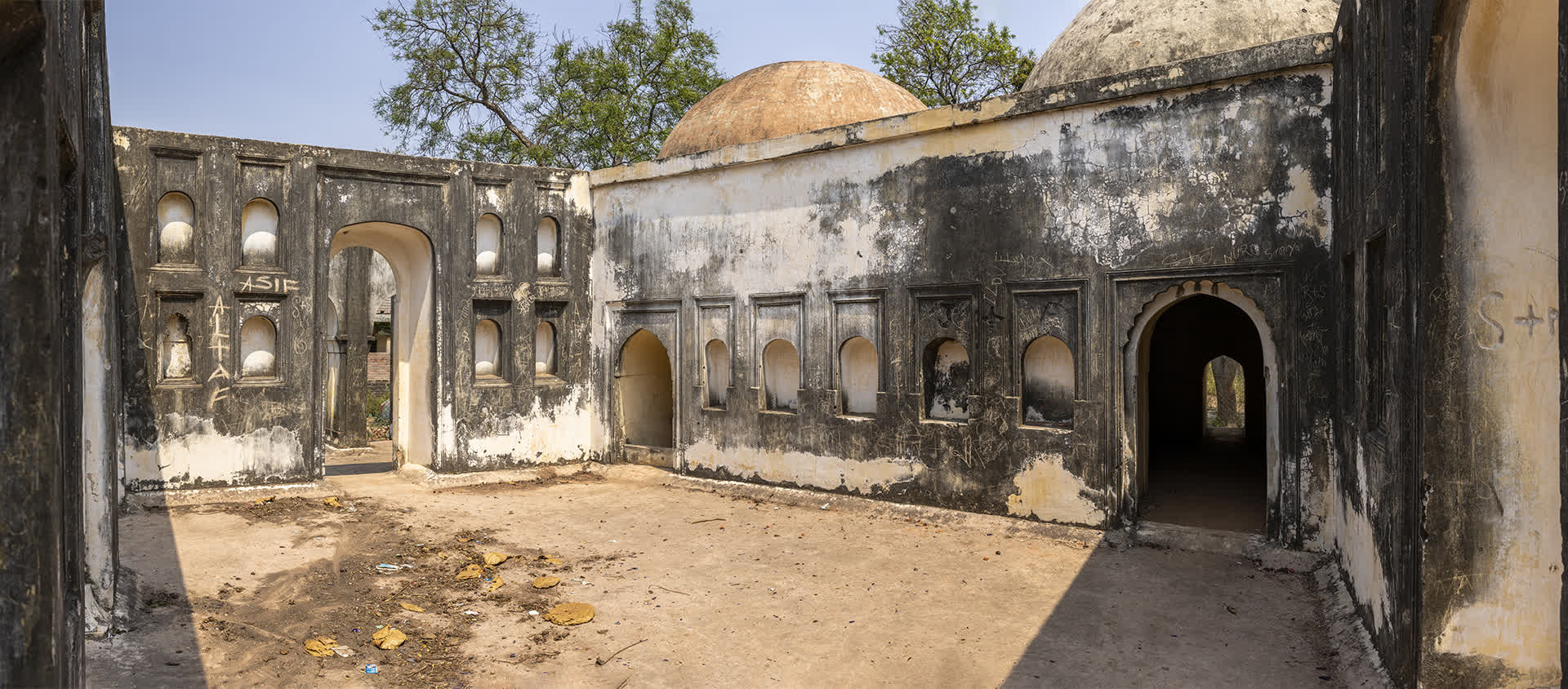 Interiors of the Rajnagar Hamam