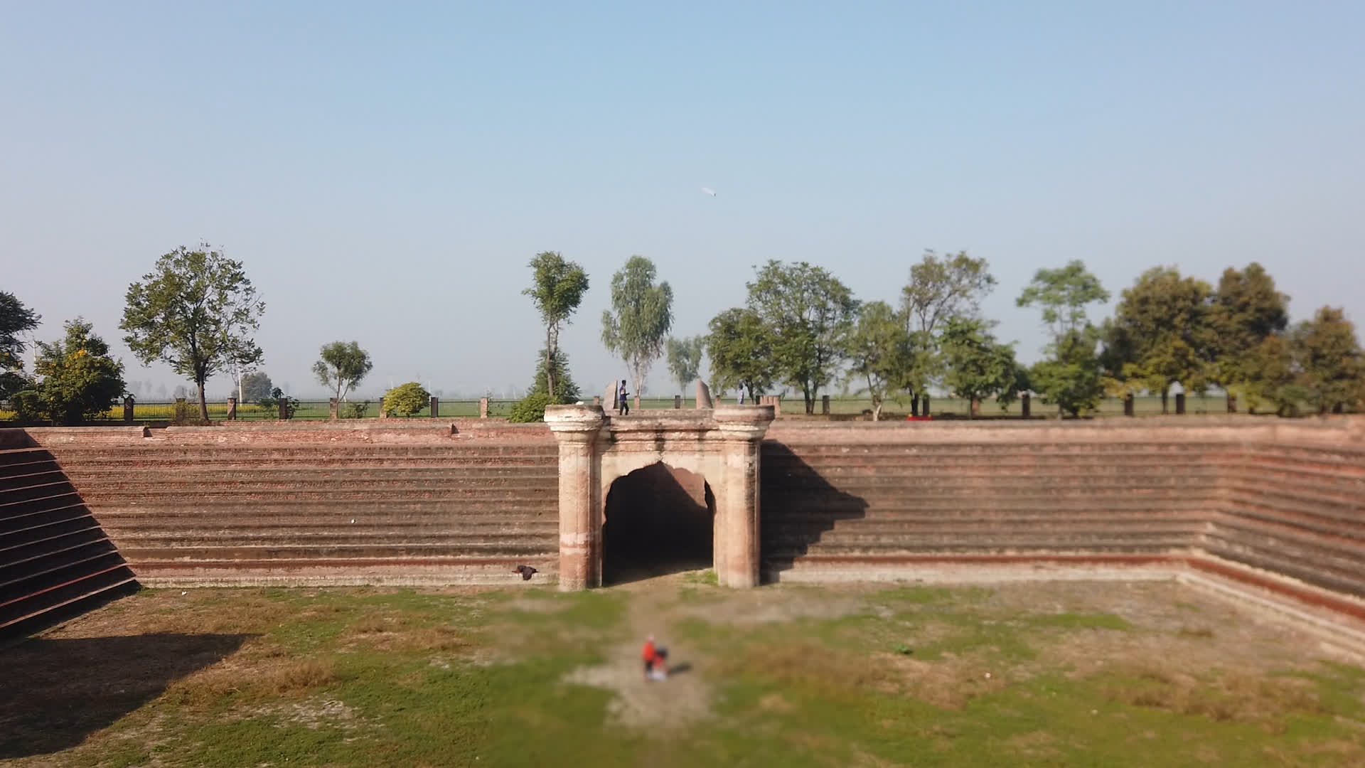 The Historical Site of Pul Kanjri