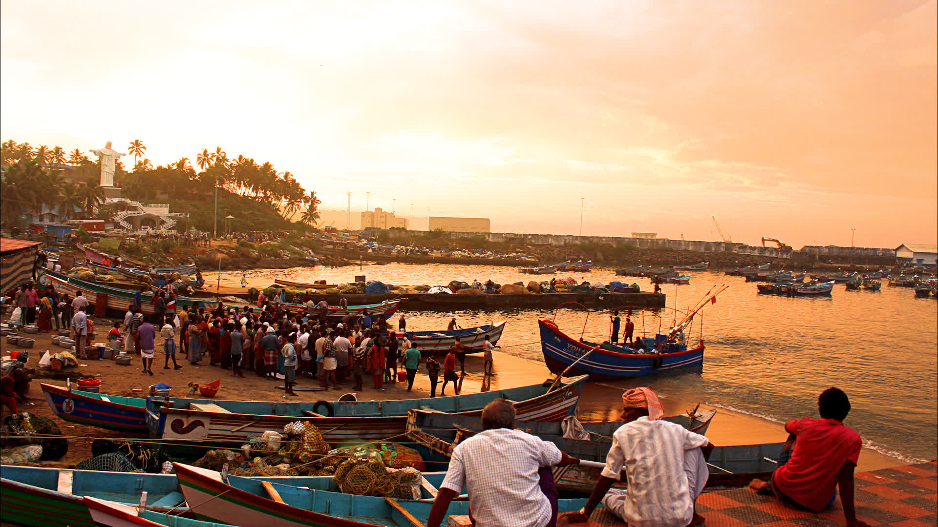 Kerala's Port Town of Vizhinjam