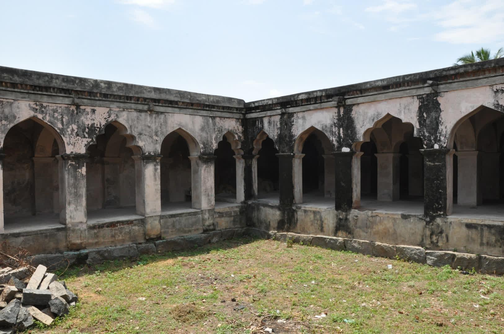 Part of Attur Fort