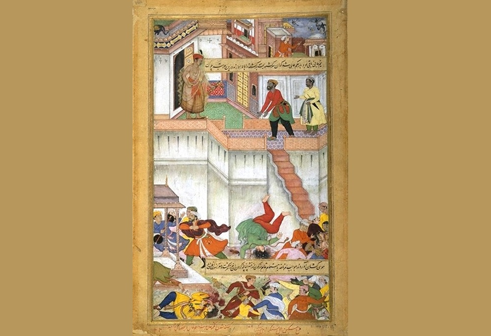 Akbar orders punishment of Adham Khan