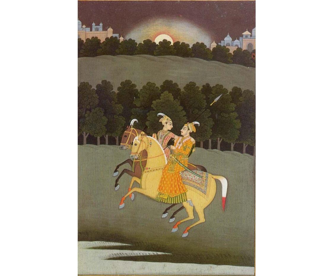 Baz Bahadur and Rupmati