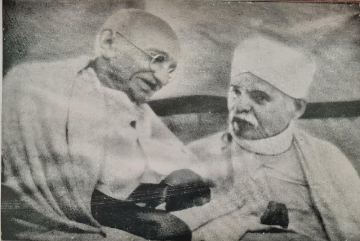 Malaviya with Mahatma Gandhi   Malaviya Family Archives