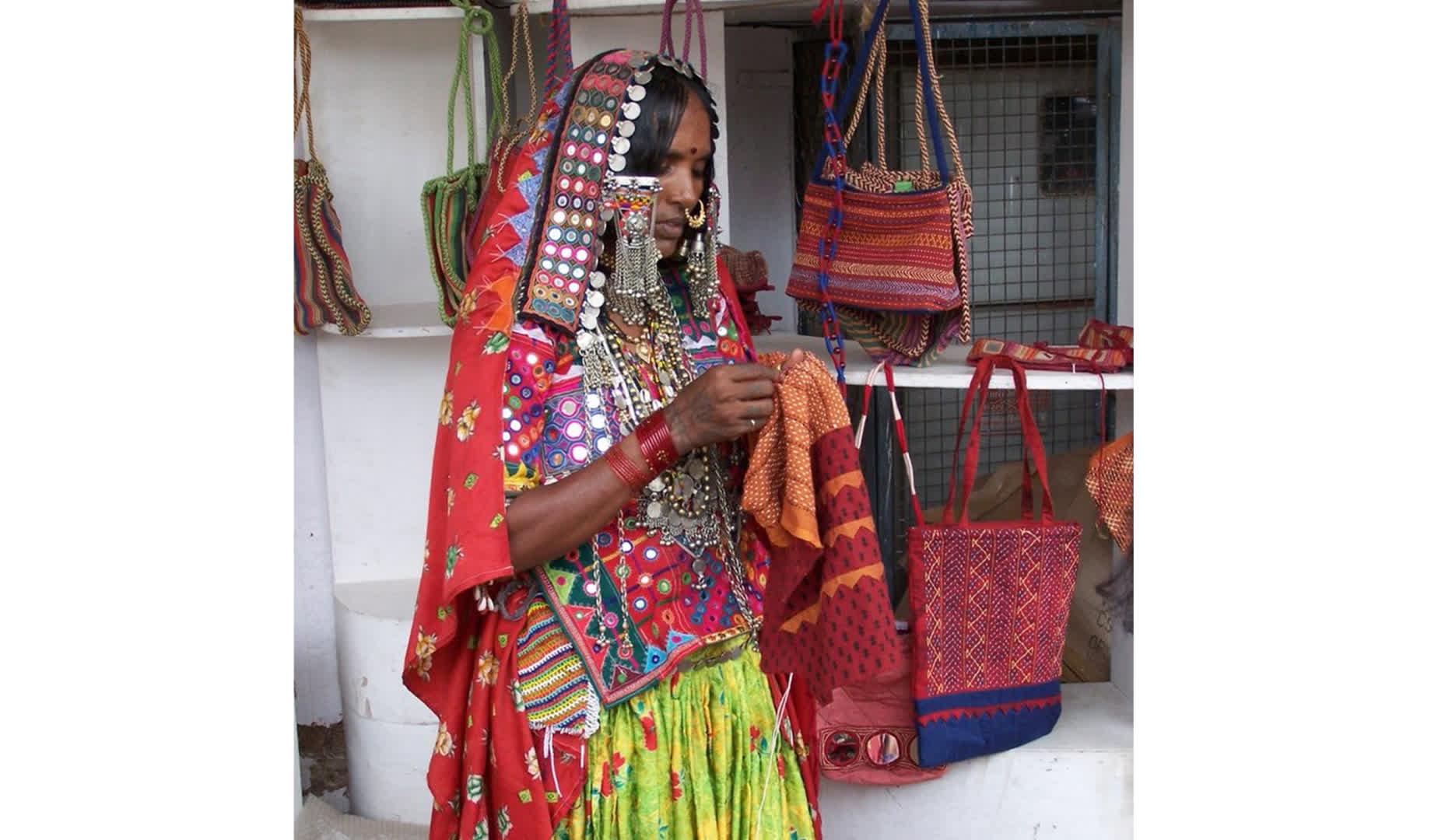 A Lambani Woman