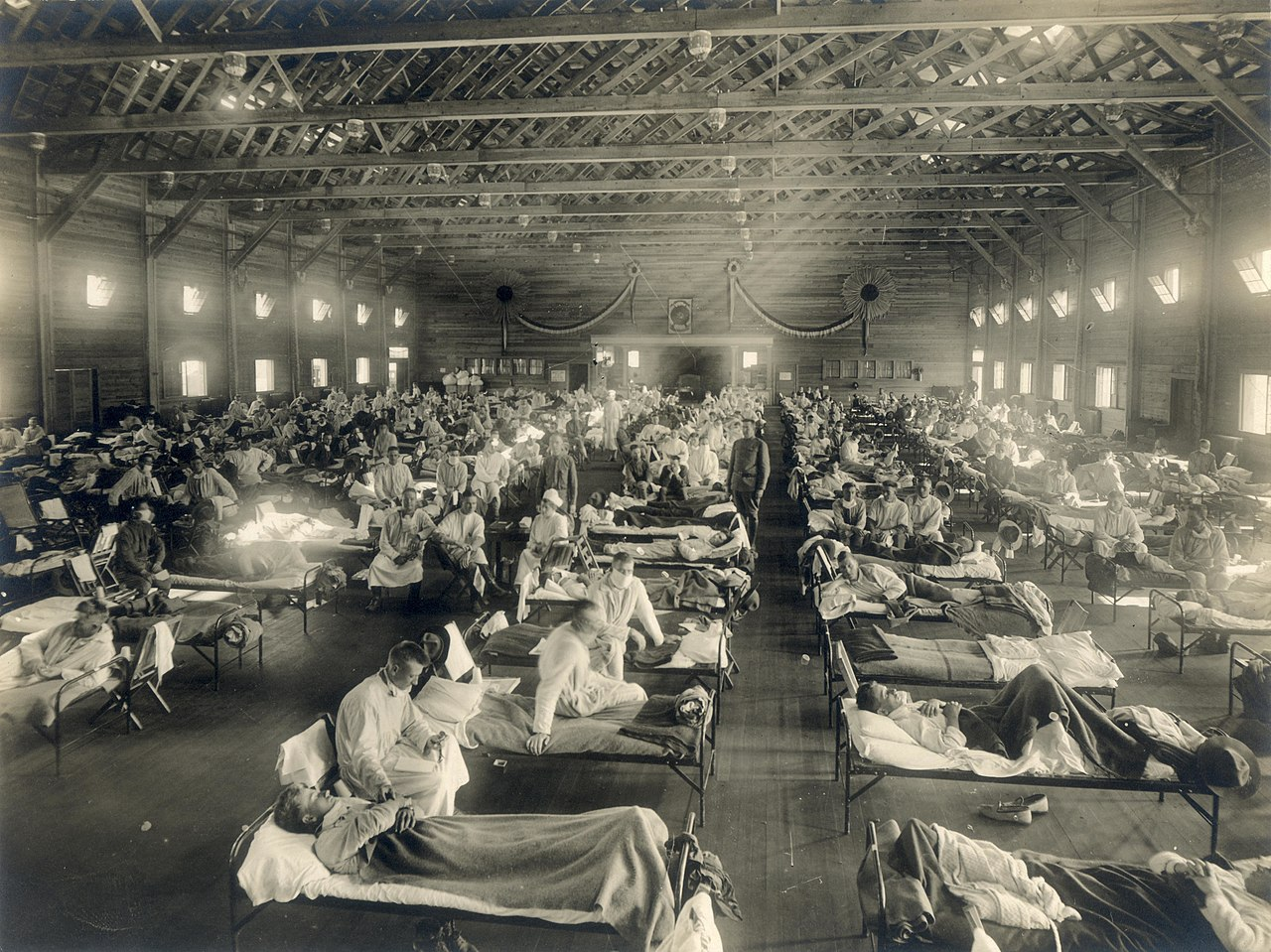 Influenza 1918: The Disappearance of Memory